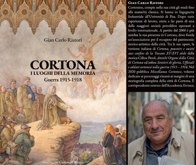 """Presentato a Santa Margherita il nuovo libro di Gian Carlo Ristori sui """"Luoghi della memoria"""" cortonesi"""
