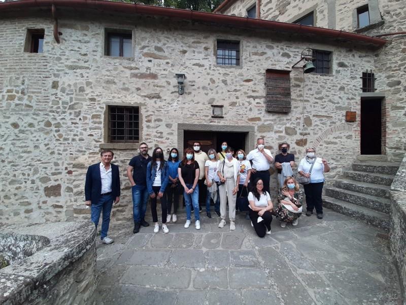 Tour operator e giornalisti di viaggio in visita a Cortona