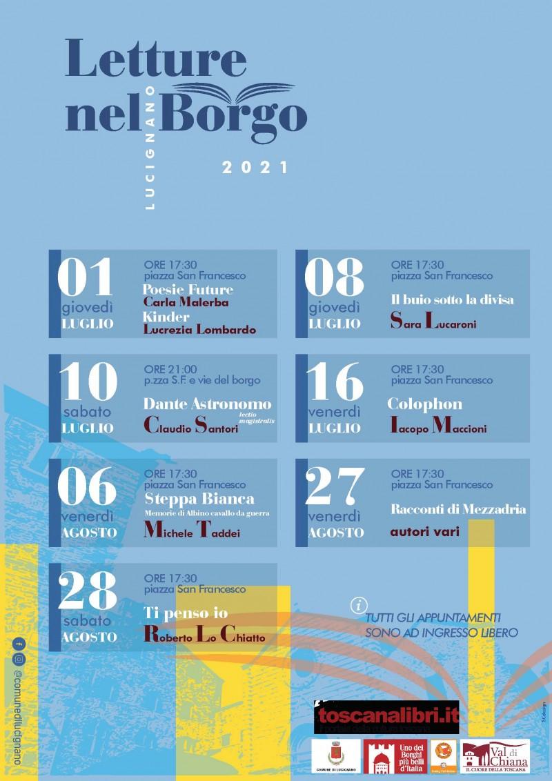 """A Lucignano arrivano """"Le Letture del Borgo"""""""