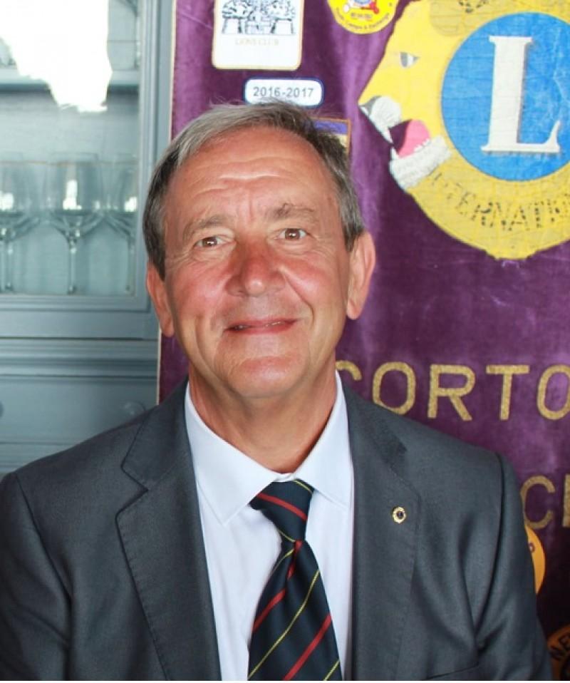 Riccardo Rigutto è il nuovo presidente del Lions Club Cortona Valdichiana Host