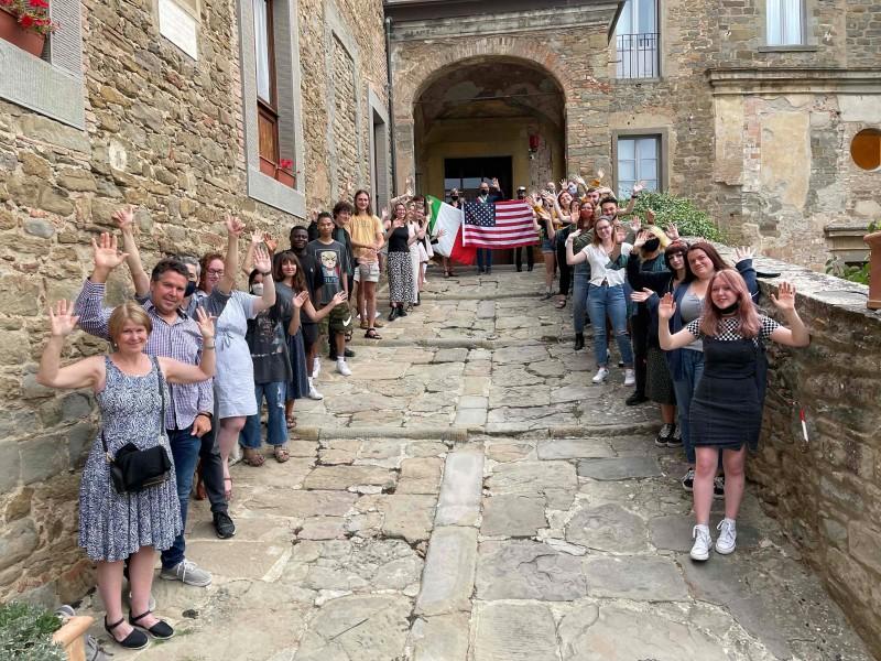 11 settembre a Cortona, Meoni incontra gli studenti della University of Georgia
