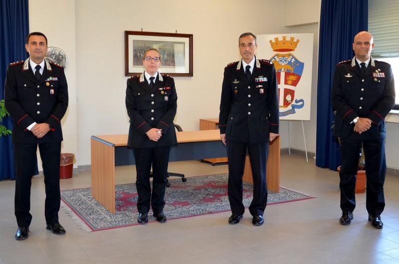 Cambi programmati alla guida delle compagnie dei carabinieri di Arezzo, Cortona e Sansepolcro