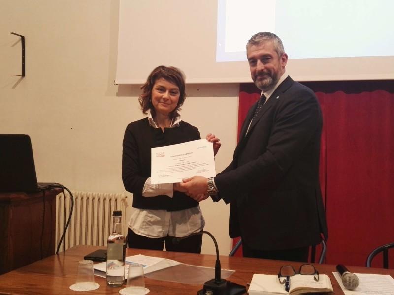 Alla Città di Cortona un certificato d'impegno dell'Unicef  per i progetti verso i più piccoli