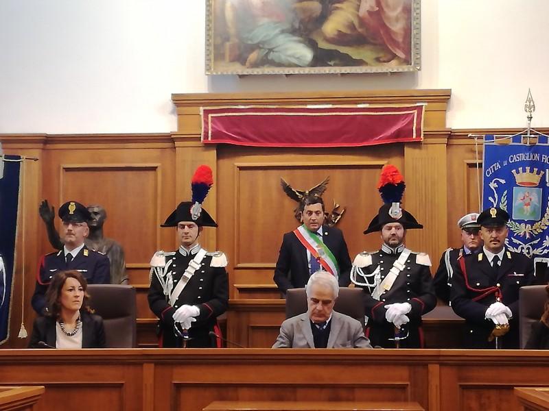 Intitolata a San Michele Arcangelo la sala del Consiglio Comunale di Castiglion Fiorentino