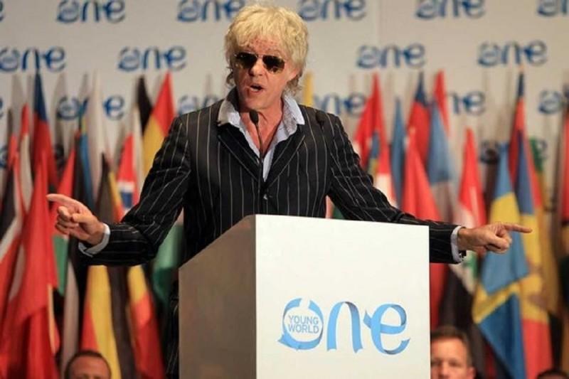 Chiavi della Città di Cortona a Bob Geldof