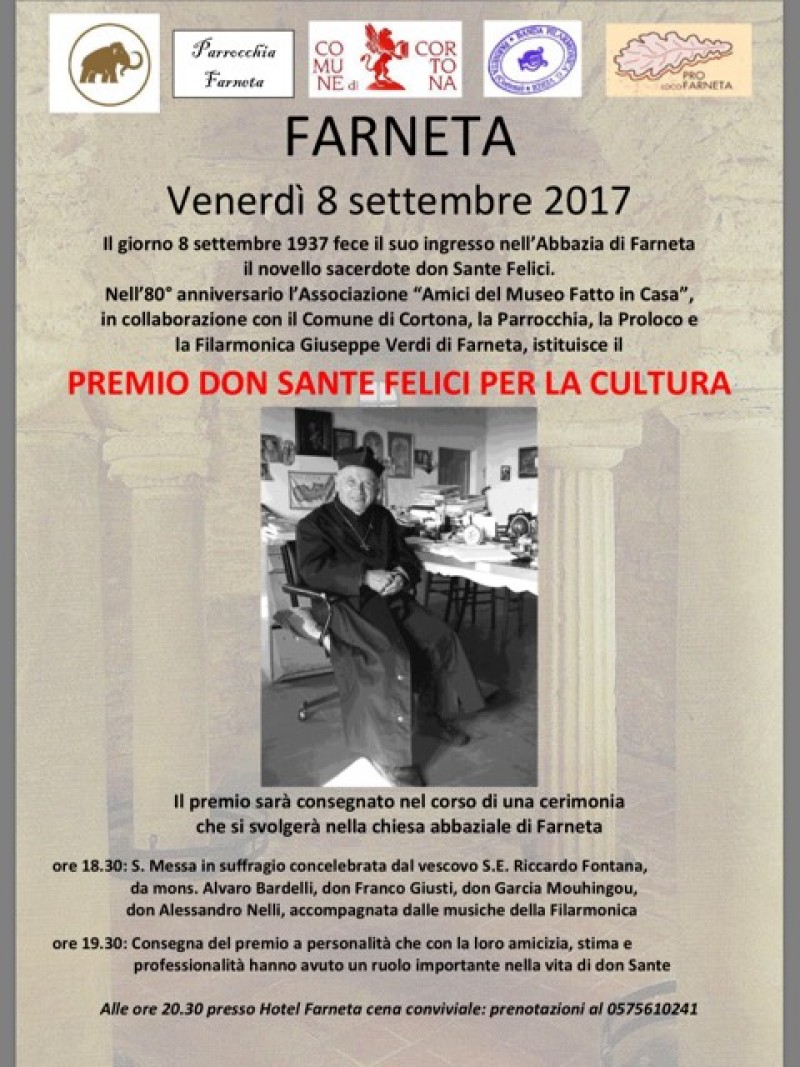 Una giornata di festa in ricordo di Don Sante Felici parroco di Farneta