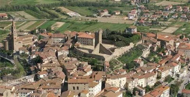 Cerimonia di commemorazione  per l'11 settembre a Castiglion Fiorentino