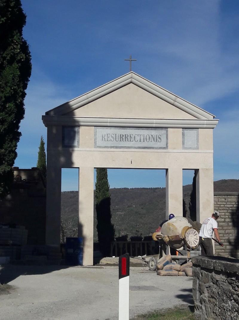 Lavori di recupero e restauro al Cimitero monumentale di Cortona