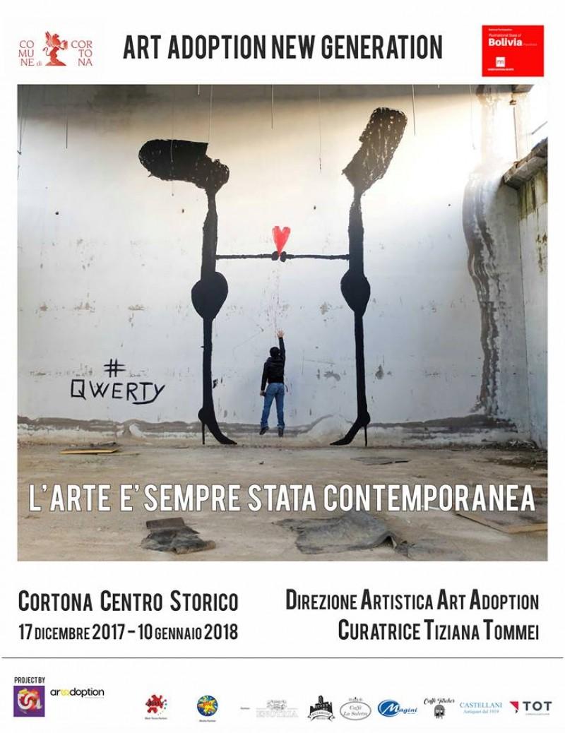 Art Adoption New Generation 2017 a Cortona: ecco i nomi degli artisti e le iniziative