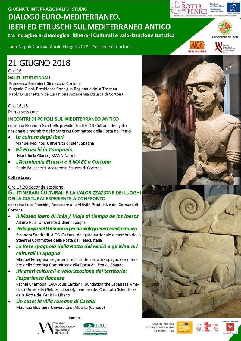 Cortona- Dialogo Euro-Mediterraneo: Iberi ed Etruschi nel Mediterraneo antico