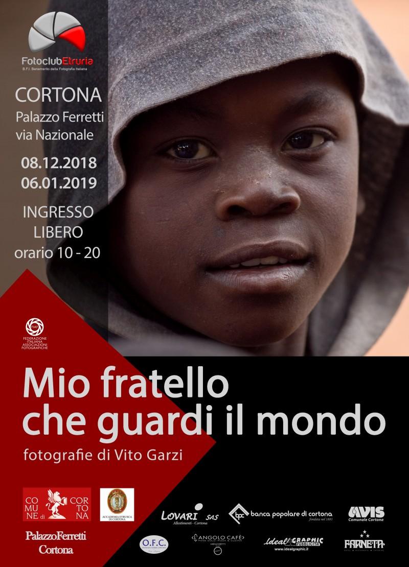 """""""Mio fratello che guardi il mondo"""": A Cortona una mostra in ricordo di Vito Garzi"""