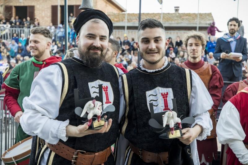 Palio dei Somari Torrita di Siena- Vittoria di Porta Nova