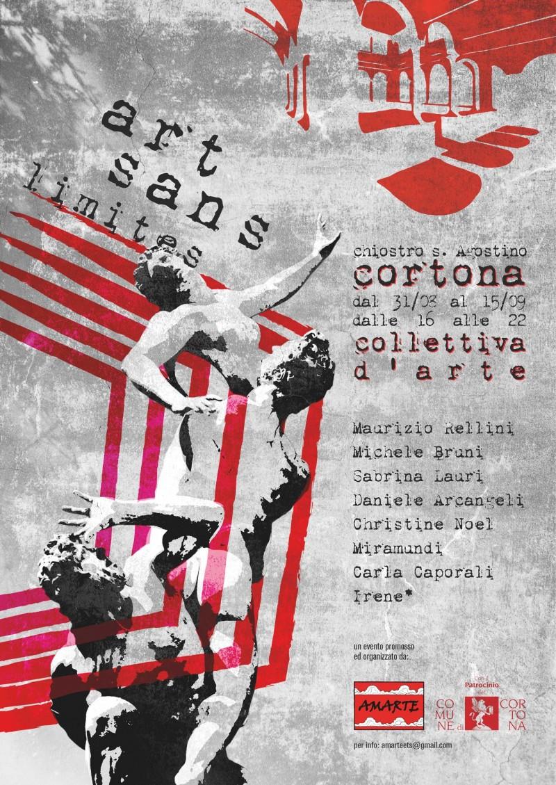 """""""Art Sans Limites""""  Collettiva al Centro Sant'Agostino di Cortona"""