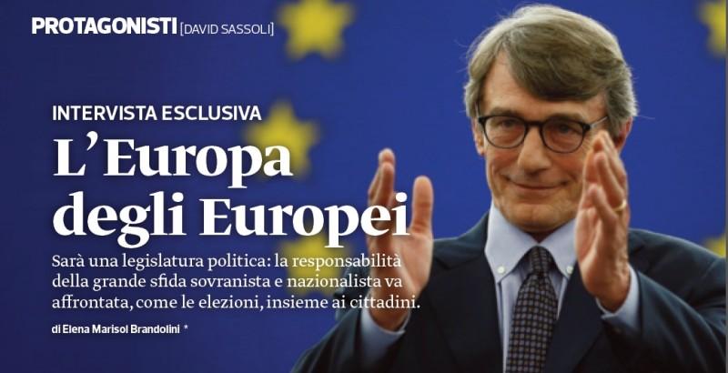 L'Europa è dei cittadini e con loro si costruisce.