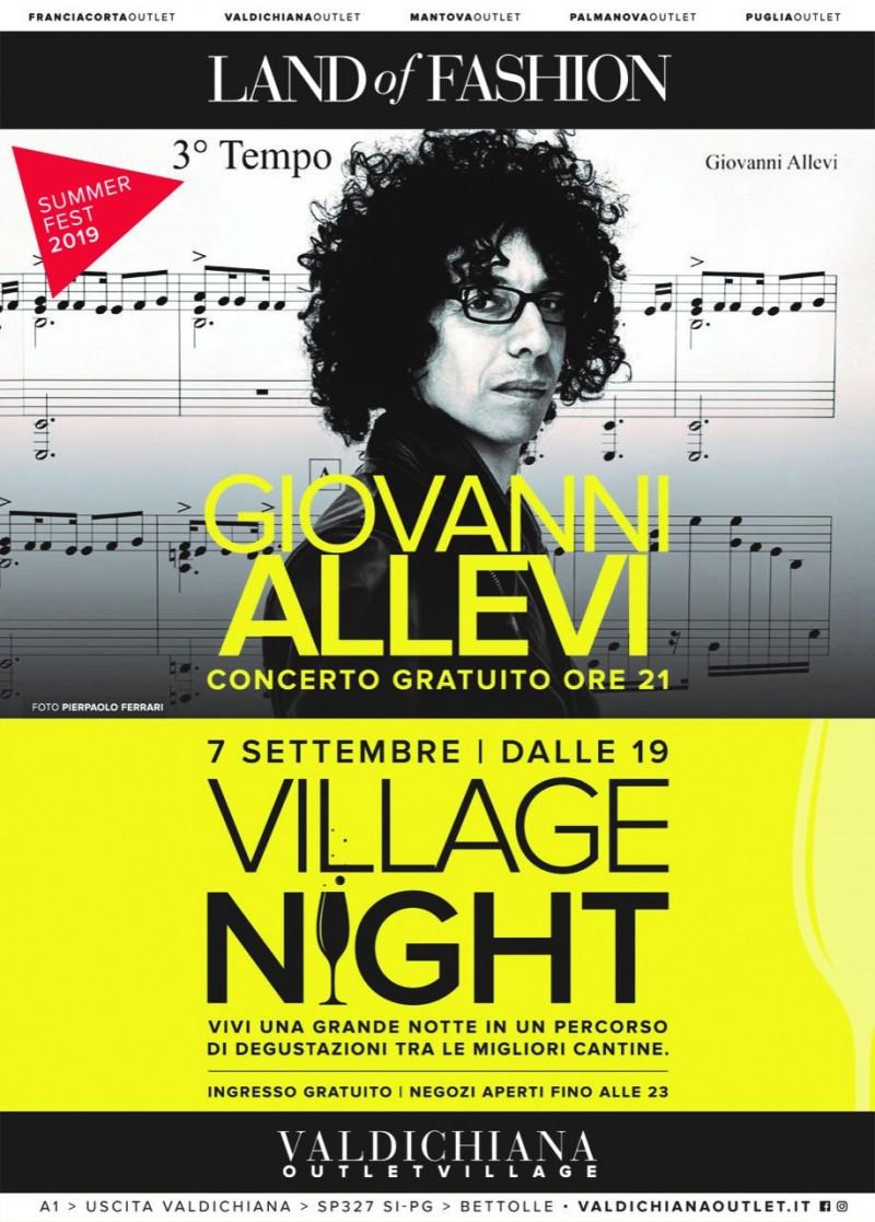 Giovanni Allevi con l'Orchestra Sinfonica Italiana al Valdichiana Outlet Village