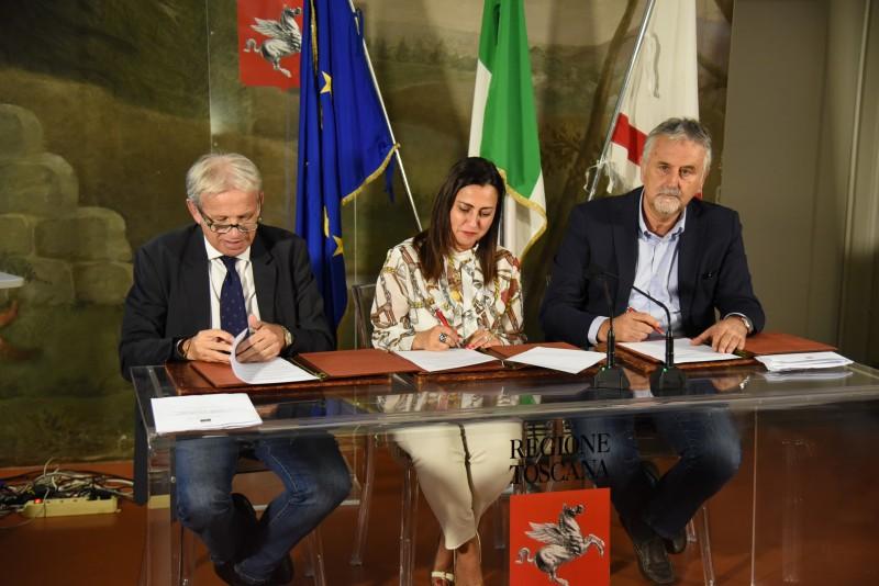 Firmato il protocollo perché la Valdichiana della bonifica leopoldina entri nei paesaggi storici d'Italia
