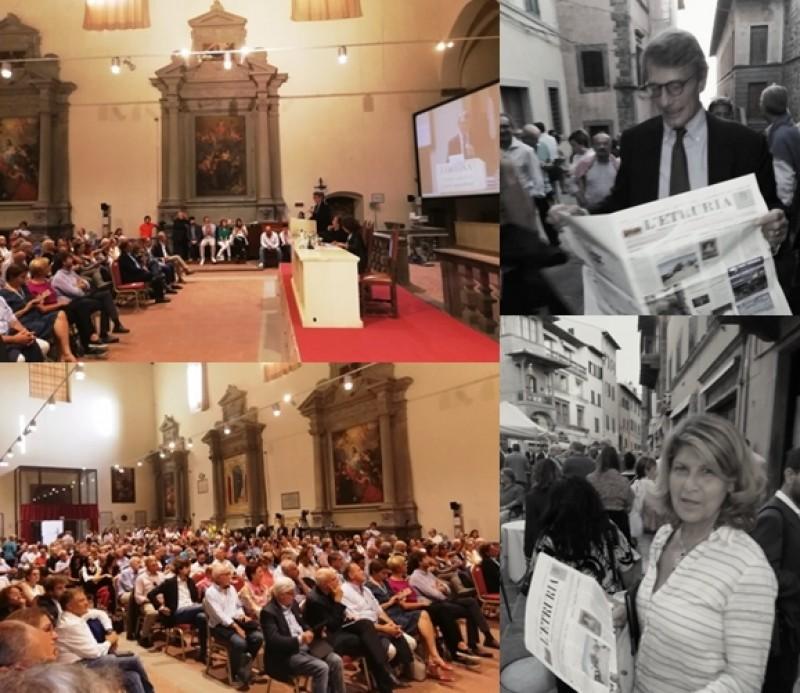 Il domani d'Europa e d'Italia nell'appassionato discorso cortonese del Presidente Sassoli