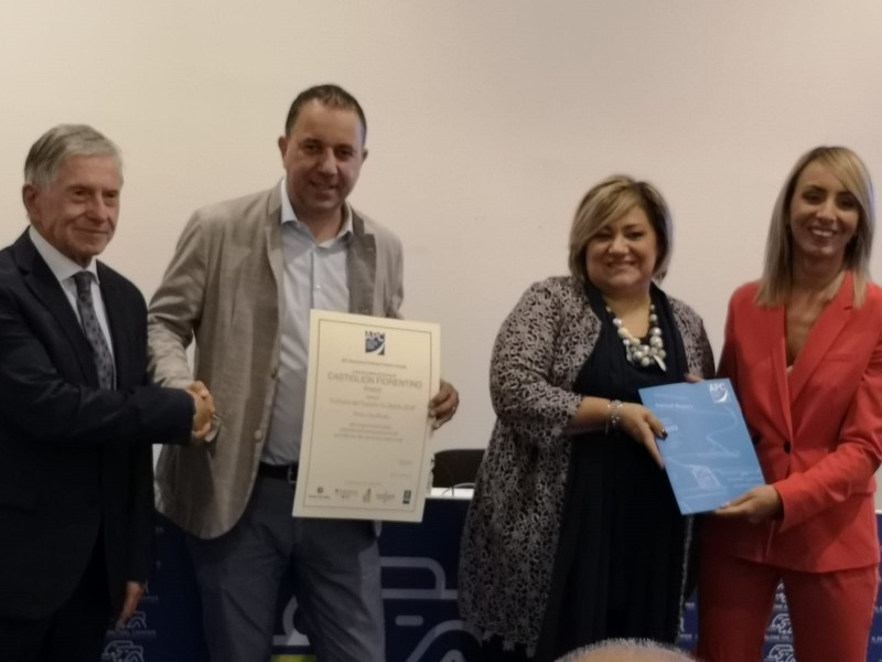 Il Comune di Castiglion Fiorentino premiato al Salone del Camper di Parma
