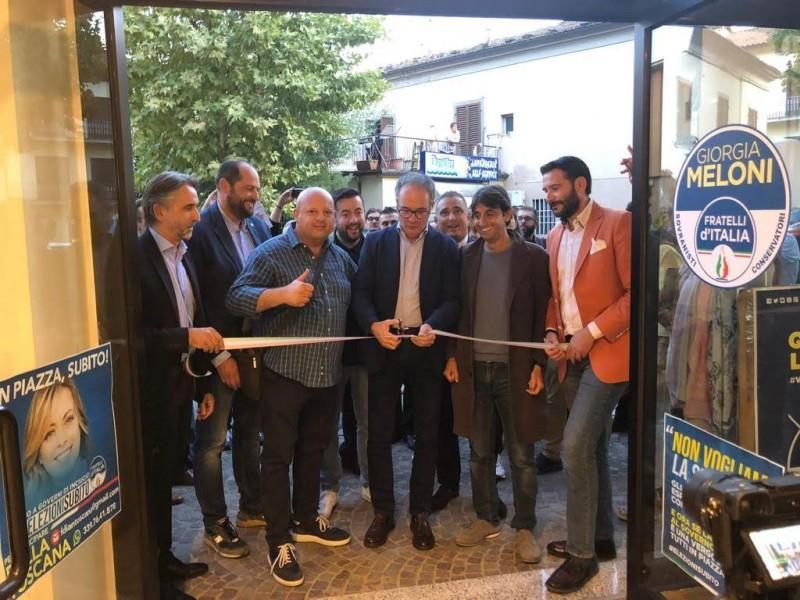 Apertura  della sede di Fratelli d'Italia a Cortona