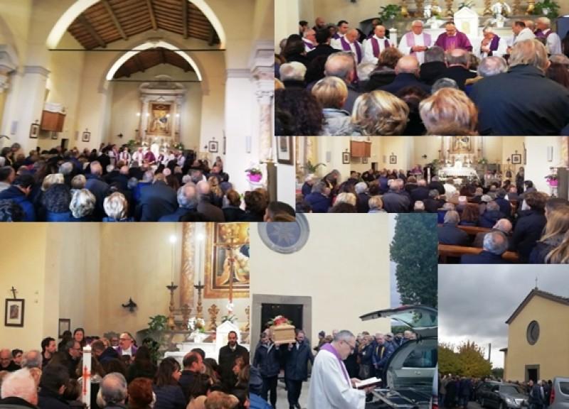 L'ultimo saluto di Cortona a Francesco Cenci
