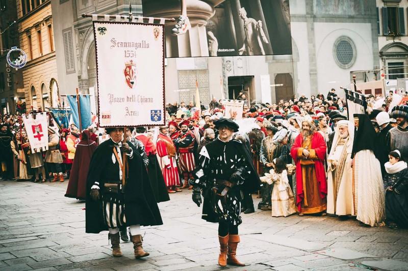 Associazioni e manifestazioni storiche aretine in assemblea a Siena - partecipa anche Scannagallo